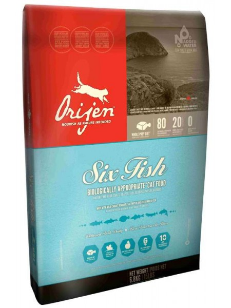 ORIJEN 6 FISH САТ ( 2.27 кг.)